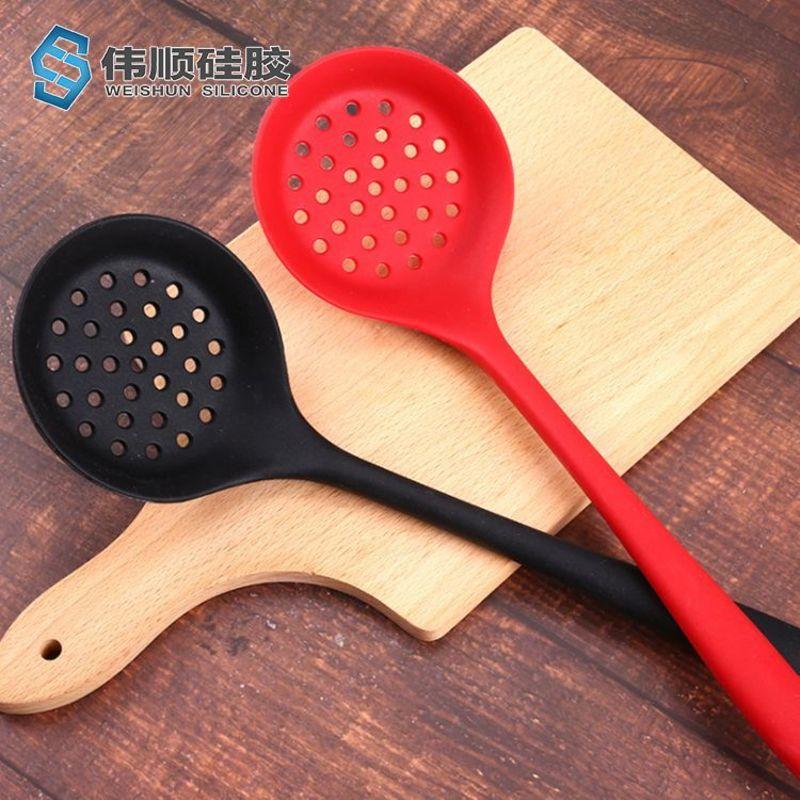 硅胶厨具-硅胶尼龙漏勺