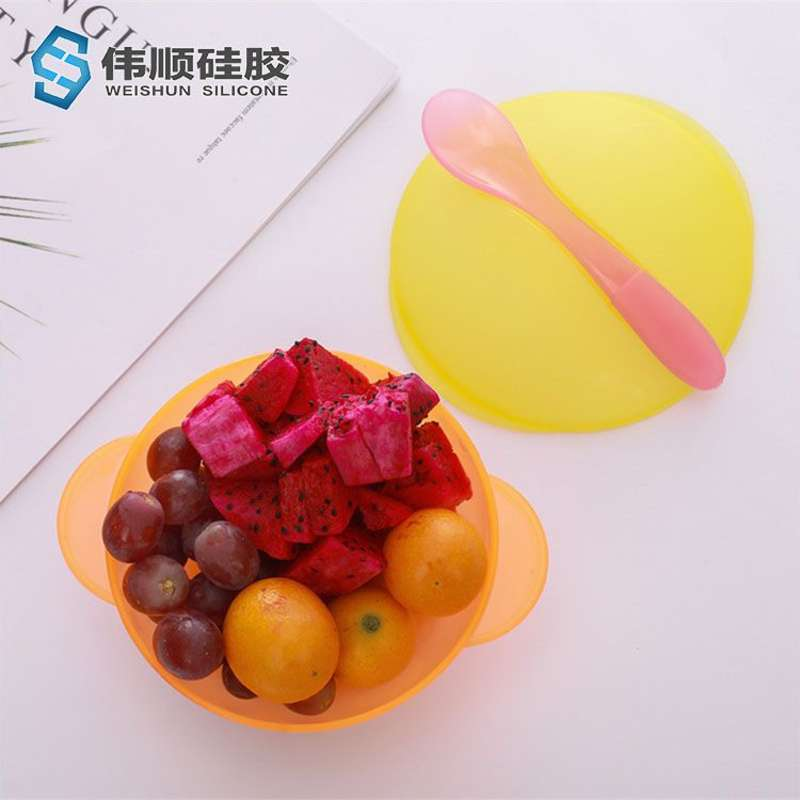 硅浙江11选5推荐计划胶儿童餐具