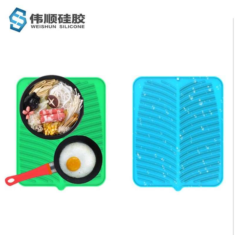 硅浙江11选五奖结果走势胶餐具干燥垫