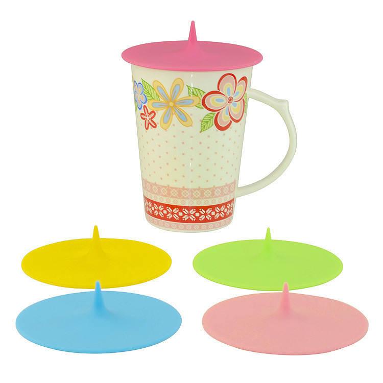 硅胶茶杯盖