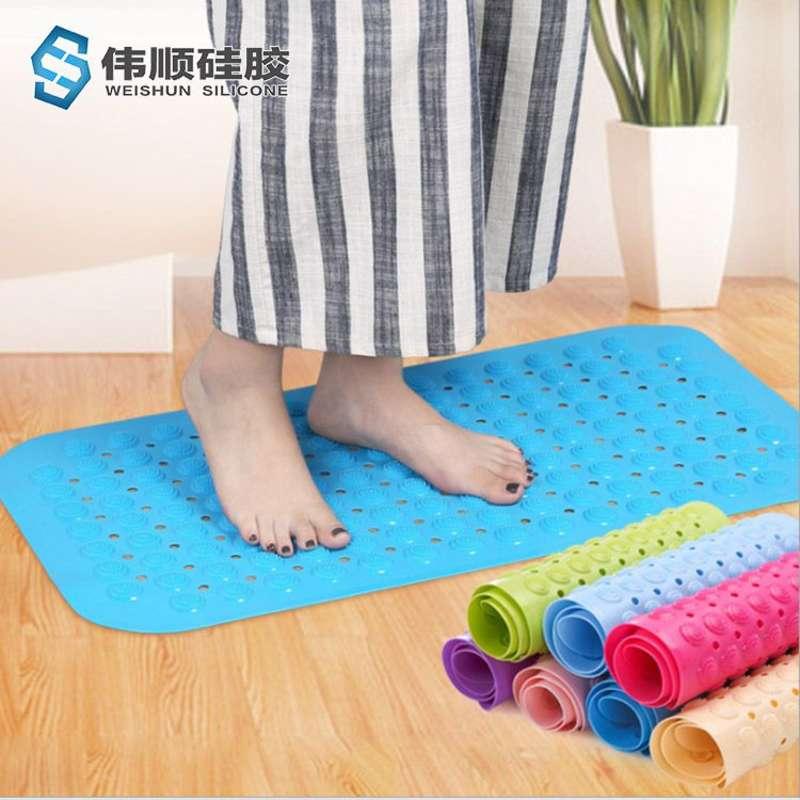 硅胶浴室防滑垫