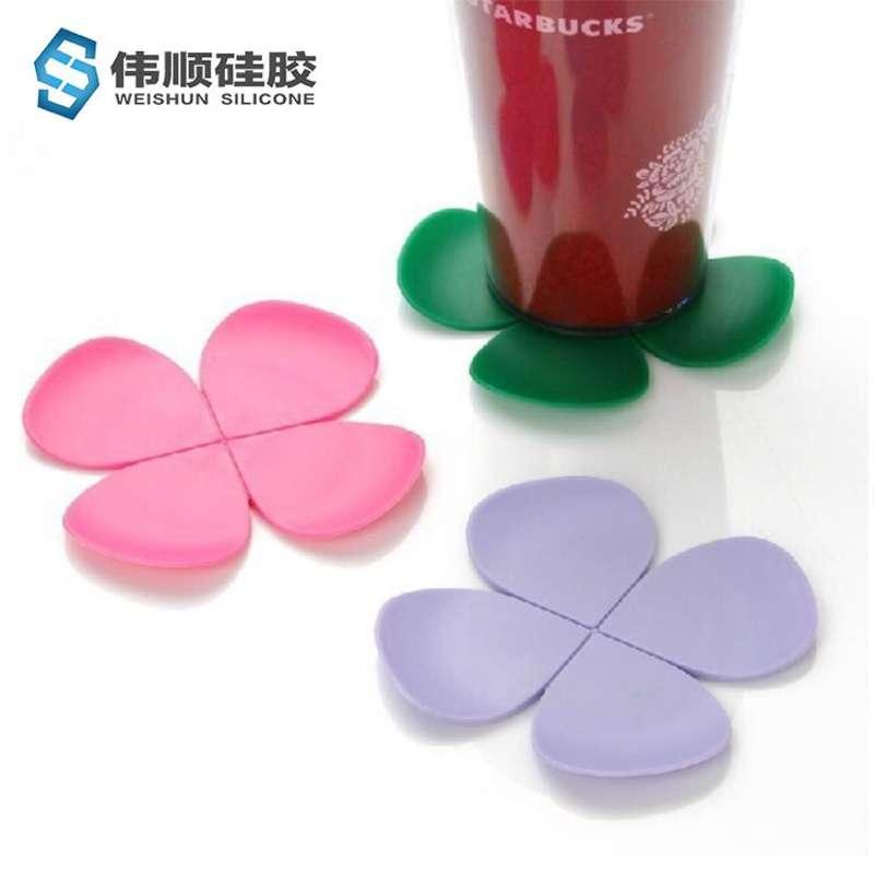 花形硅胶隔热垫