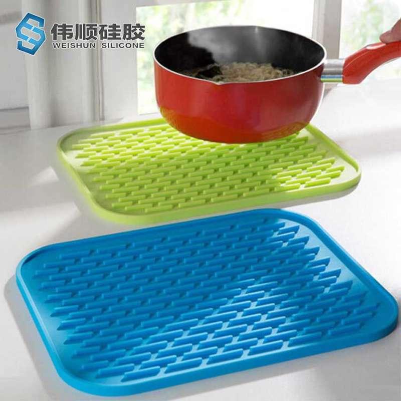 硅胶餐具隔热垫