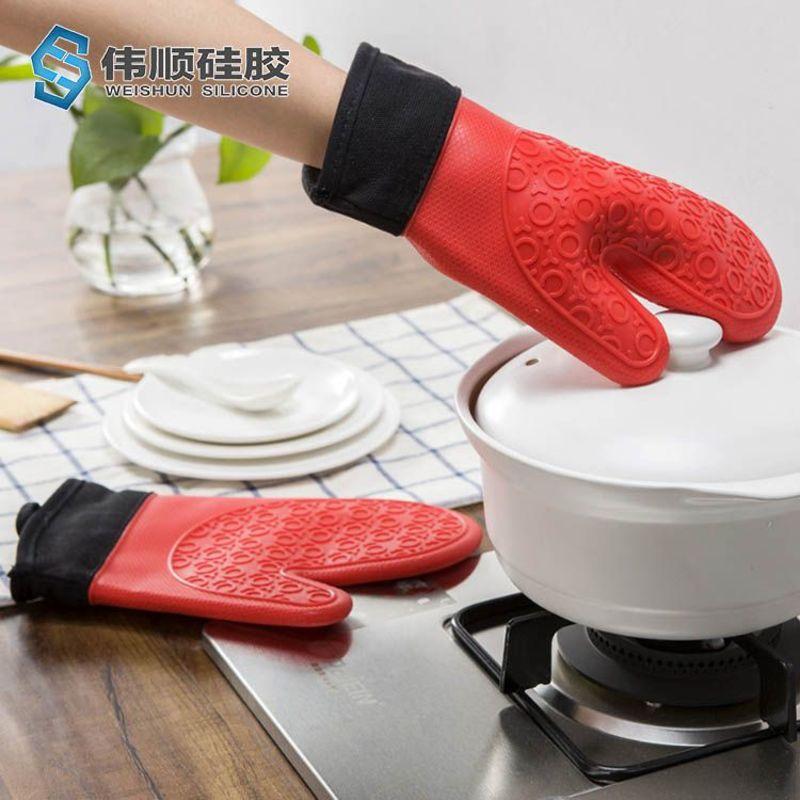 硅胶烤箱手套