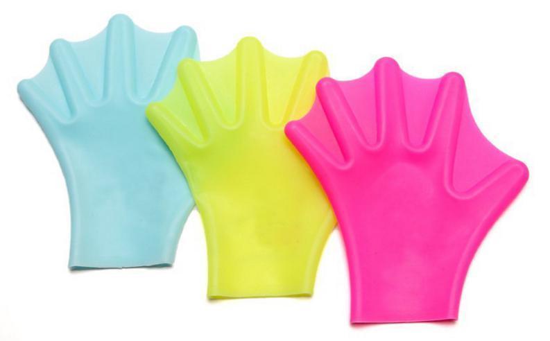 硅胶游泳手套颜色