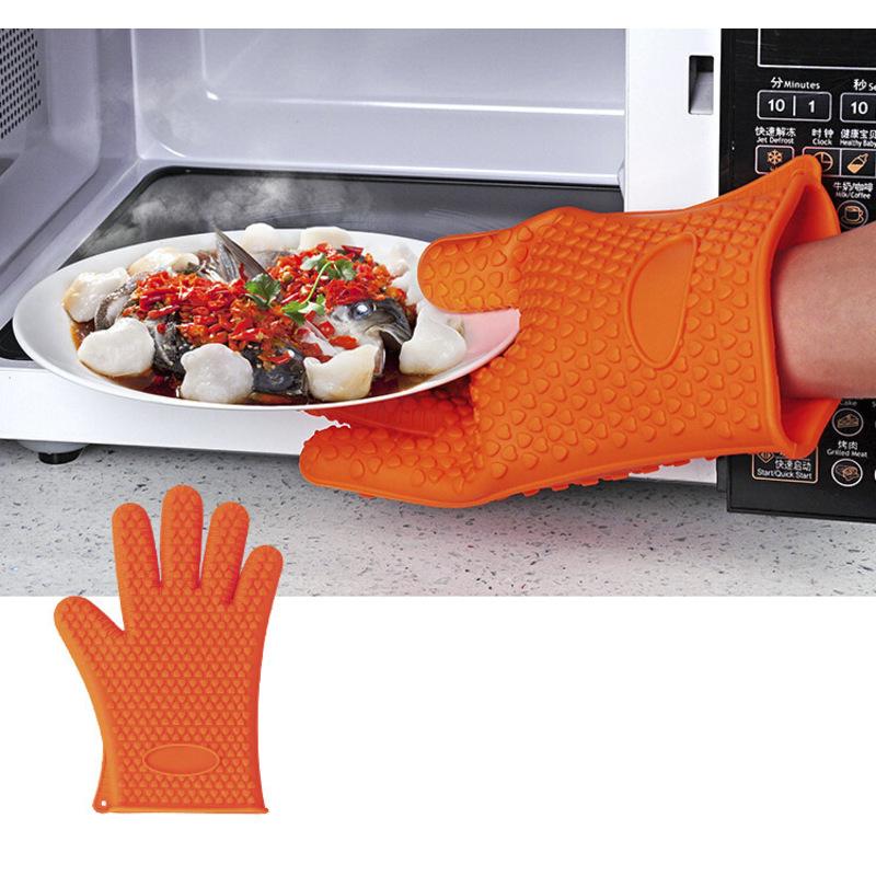 硅胶加厚手套