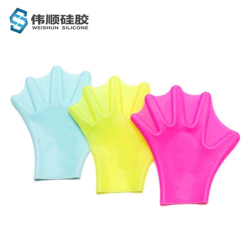硅胶游泳手套