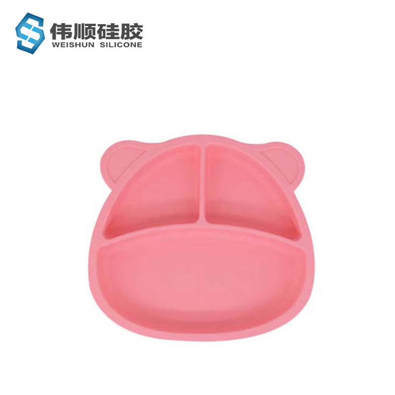 小熊硅胶餐盘